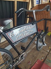Trade bike sign panel. Hand painted.  To order. Call 07775746550