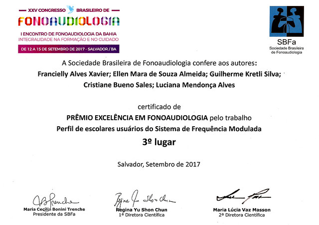 Congresso Brasileiro de Fonoaudiologia