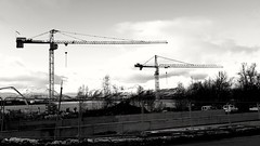 Buliding cranes