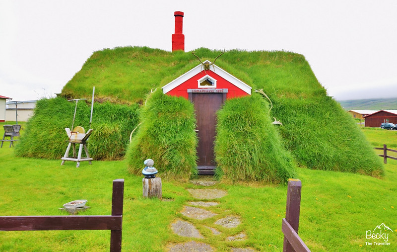 Planning a trip to Iceland - Cute little moss house in Iceland on the east coast