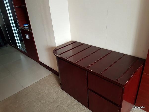 Jingxi International Hotel counter