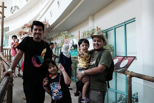 Family outing, Zoo Negara