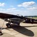 Supermarine Spitfire FRXIVe G-MXIV (NH749) Brize Norton 23-6-84