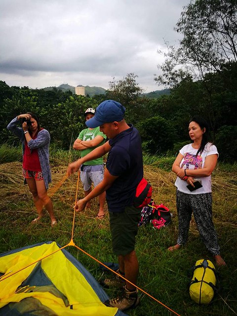 adventure farm timberland heights san mateo rizal tent pitching