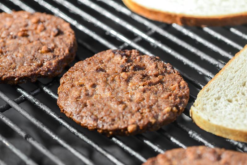 Veggie Burger Patty Melts