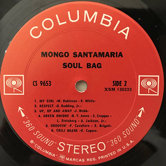 MONGO SANTAMARIA:SOUL BAG(LABEL SIDE-B)