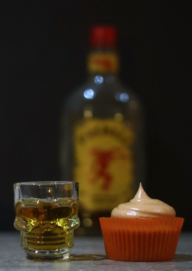 Fireball Cupcakes Festive