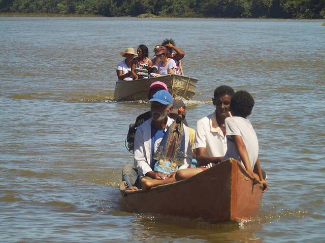 Somente nos últimos seis meses, as 45 famílias pescadoras e vazanteiras foram expulsas quatro vezes de seu terreno de origem - Créditos: Divulgação / CPP