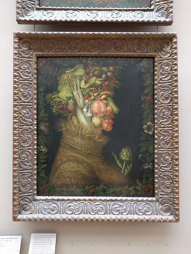 portrait of fruit by Arcimboldo
