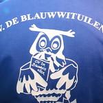 11-11 bal Blauw Wit Uilen