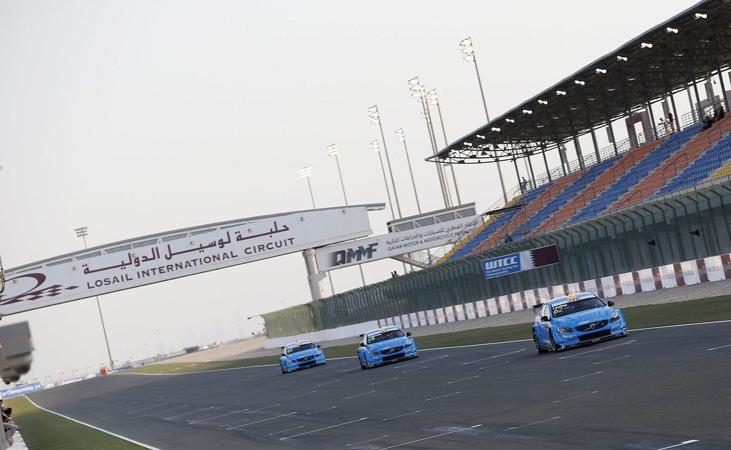 MAC3, Volvo S60 Polestar team Polestar Cyan Racing, action, during the 2017 FIA WTCC World Touring Car Championship race at Losail  from November 29 to december 01, Qatar - Photo Jean Michel Le Meur / DPPI