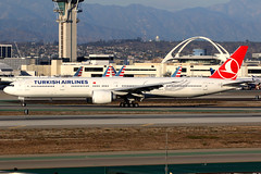 Turkish Airlines   Boeing 777-300ER   TC-JJF   Los Angeles International