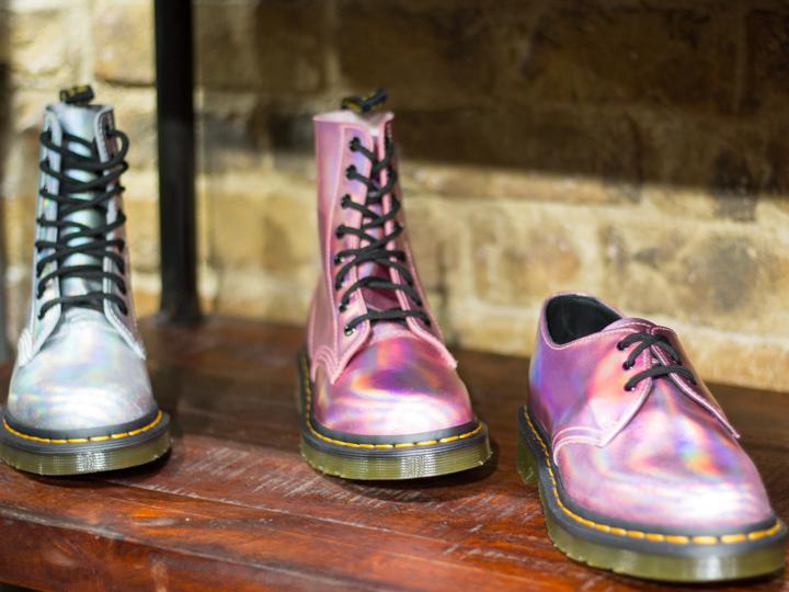 Iced Metallics boots