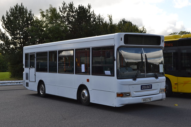 Preserved Cardiff Bus 185 X185CTG
