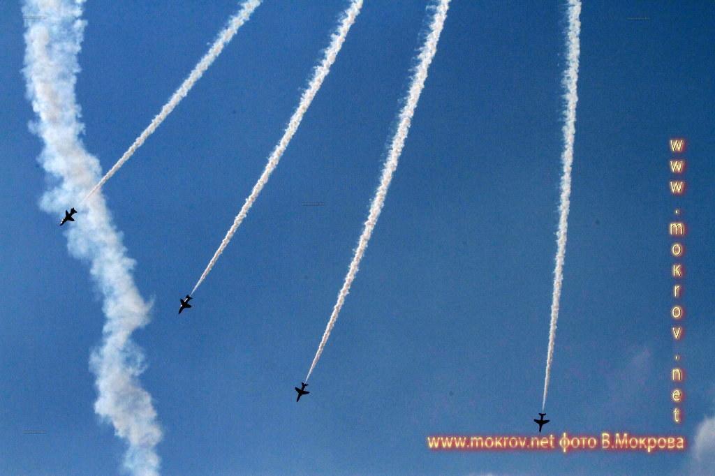 Групповой пилотаж 10хТ-1 Хок Красные стрелы, Великобритания,