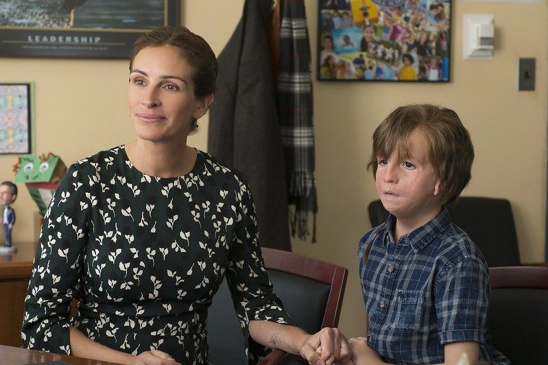 julia roberts, jacob tremblay WONDER