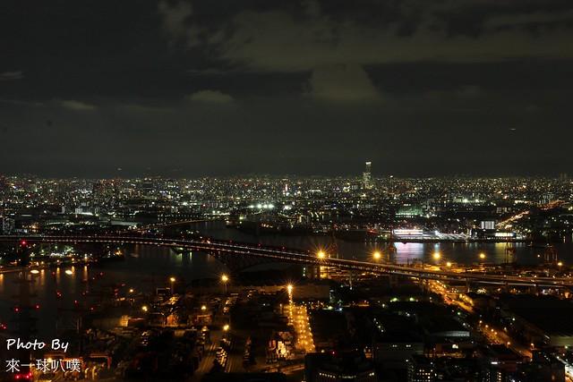 大阪府咲洲行政大樓展望台38
