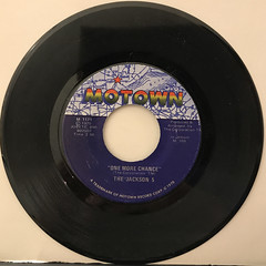 THE JACKSON 5:I'LL BE THERE(RECORD SIDE-B)
