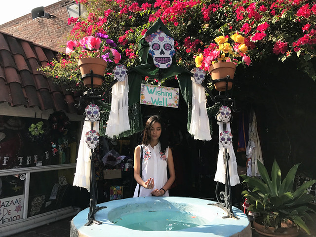 A Wishing Well at Olvera Street, DTLA