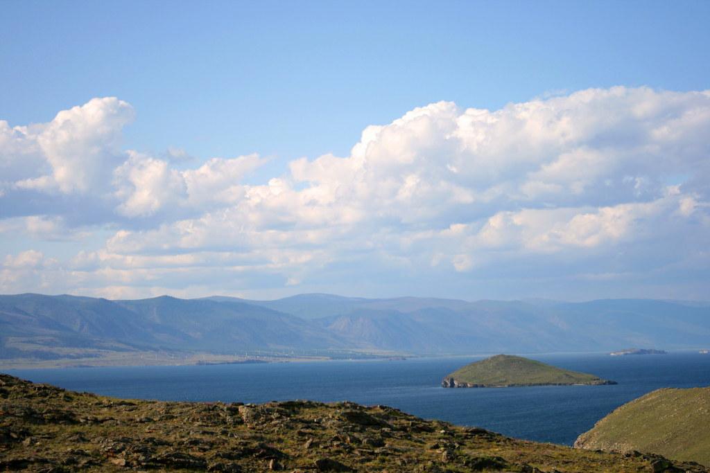 Остров Ольхон Озеро Байкал живописные фотоискусства