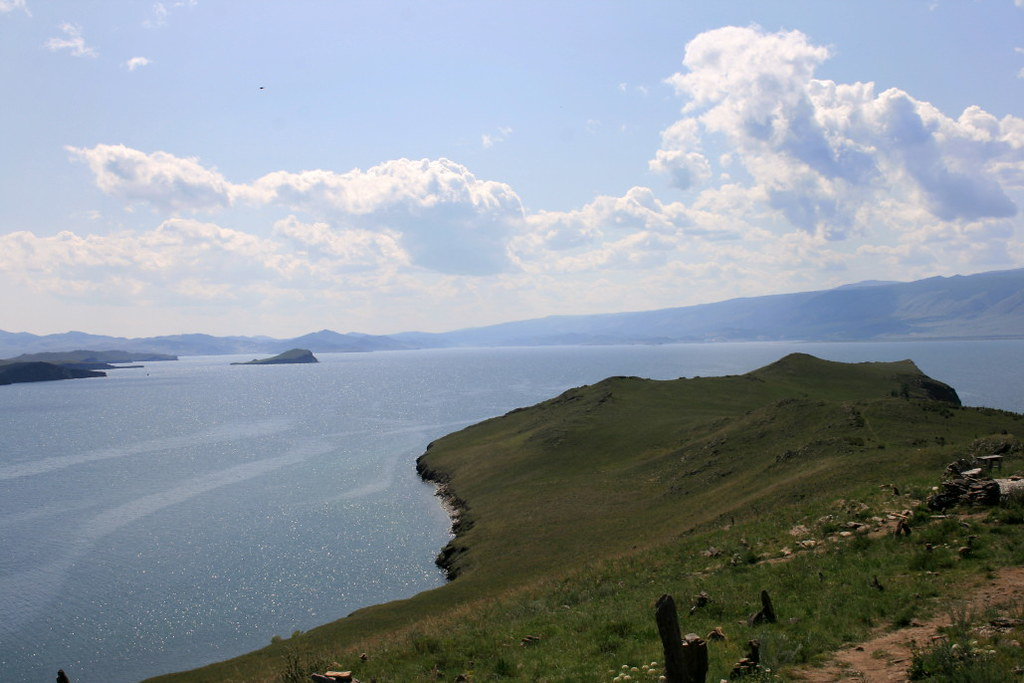 Остров Ольхон Озеро Байкал живописные жанровые фотографии
