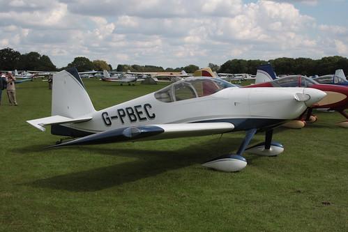 G-PBEC Van's RV-7 [PFA 323-14382] Sywell 010917