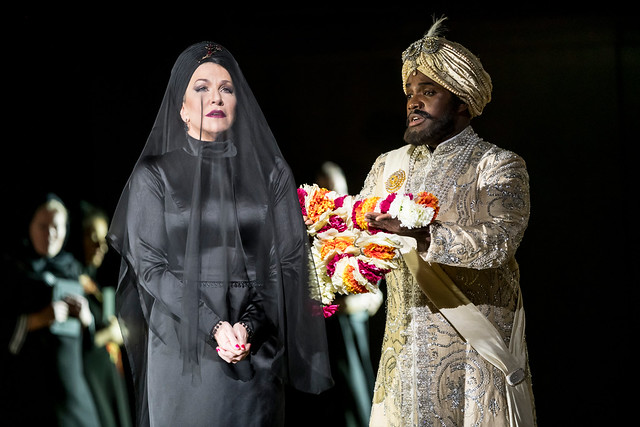 Joyce DiDonato and Lawrence Brownlee in The Royal Opera's Semiramide © 2017, ROH. Photograph by Bill Cooper.