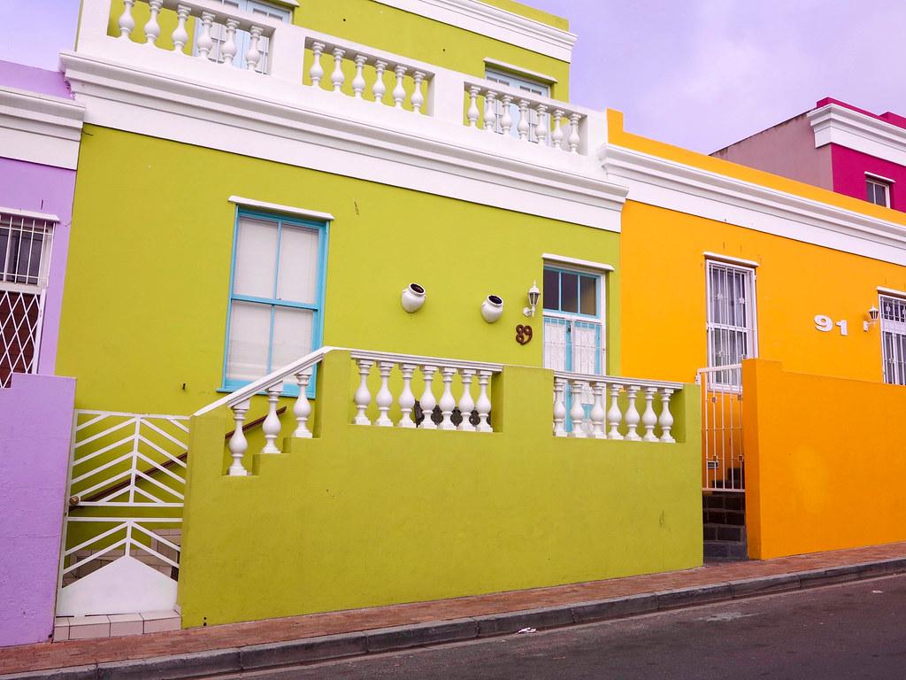 Barrio musulmán en Cape Town