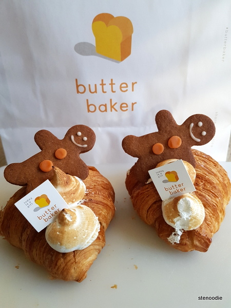 Butter Baker croissants