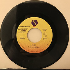 THE PRETENDERS:DON'T GET ME WRONG(RECORD SIDE-B)