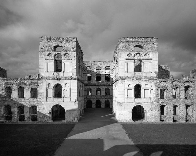 Ruins of the castle Krzyżtopór