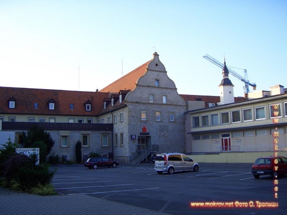 Германия - Швайнфурт и фотограф