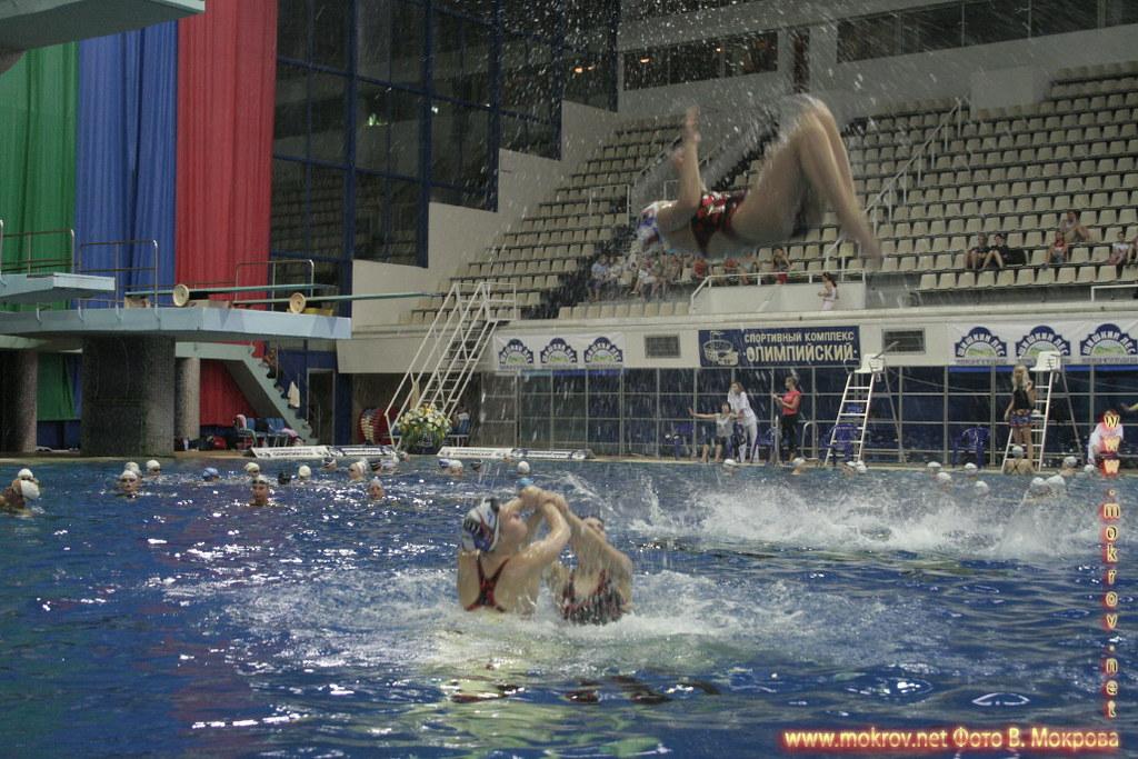 Сборная команда России по синхронному плаванию с фотокамерой
