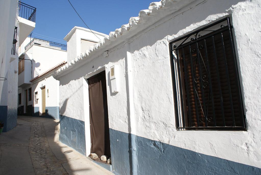 Dans le village haut perché de Cáñar dans la Sierra Nevada.