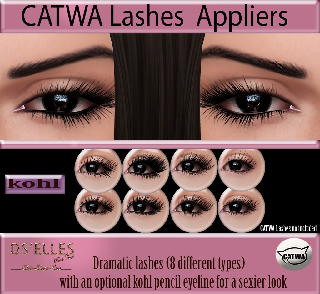 DS'ELLES – Lashes applier  for Catwa
