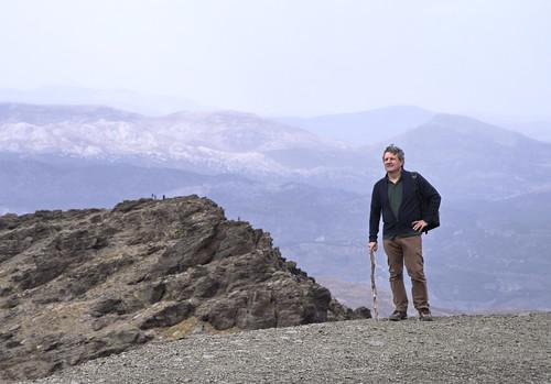Autorretrato en El pico Veleta (Granada)
