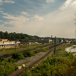 Amtrak Train Ride from Philadelphia to New York