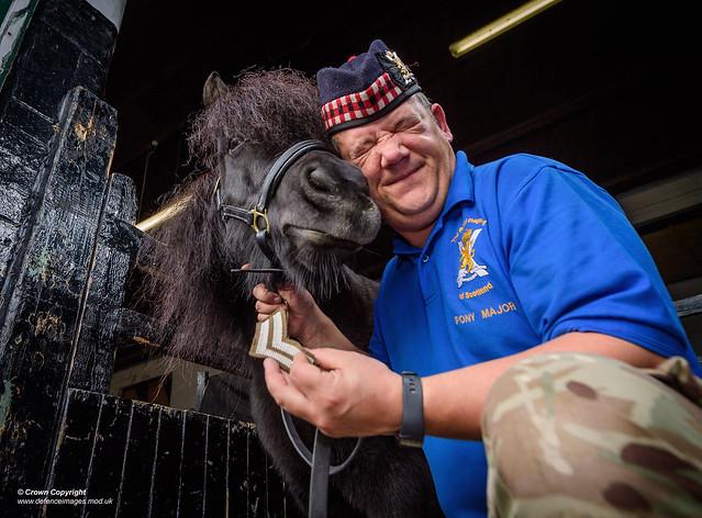 Royal Regiment of Scotlands Cruachan IV's Promotion