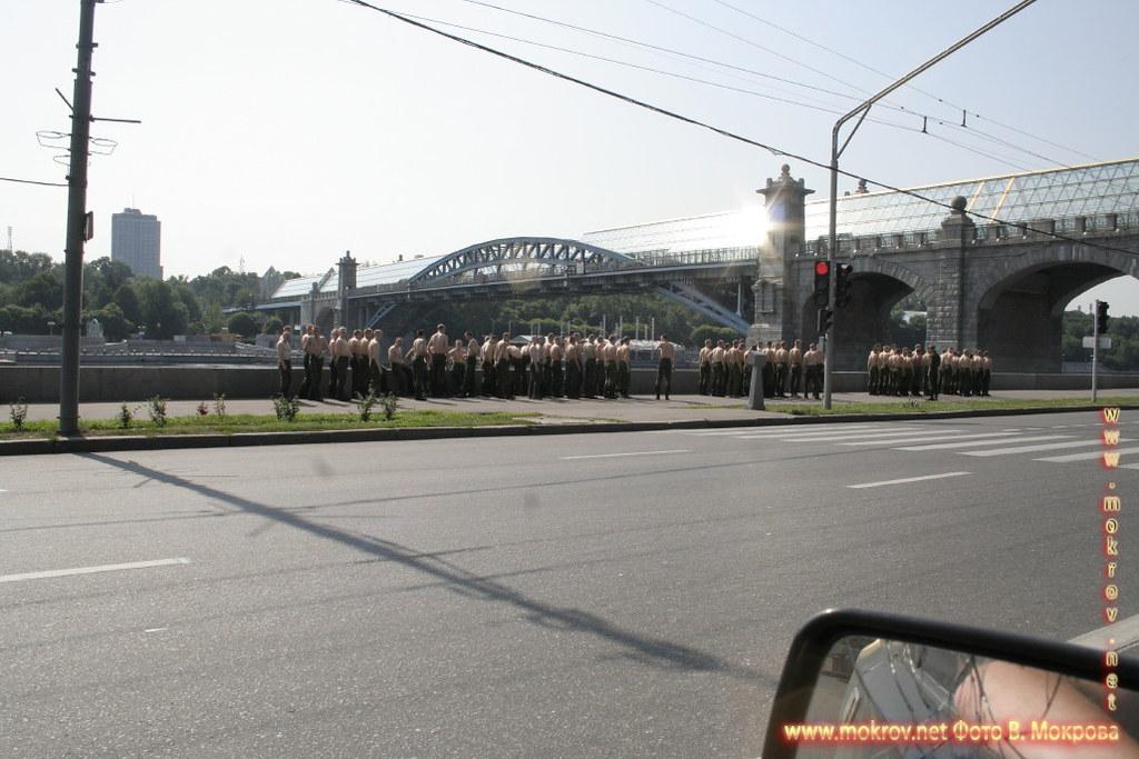 Пушкинский мост Москве.