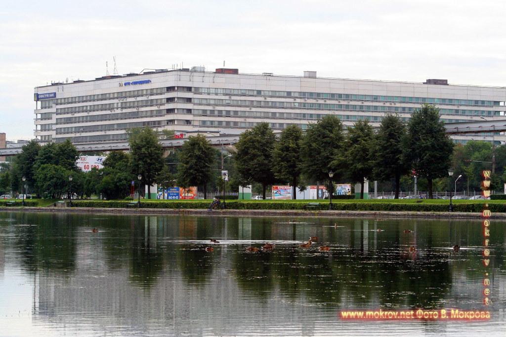 Останкинский пруд.
