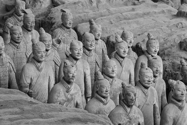 The Terracotta Warriors - Xi'an