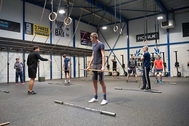 Clinic gewichtheffen bij Crossfit Alkmaar