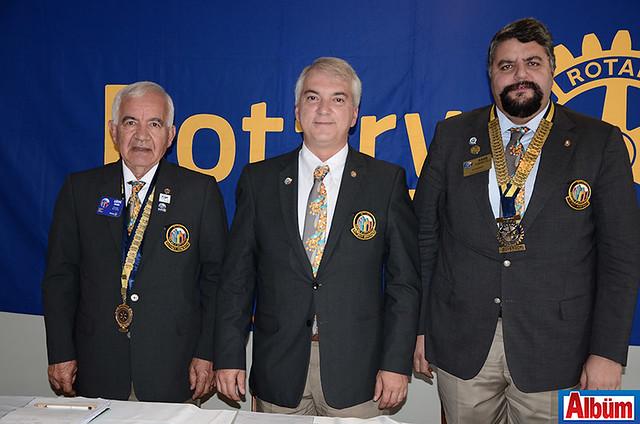 Türk Rotary Kulübü 2440. Bölge Federasyon Başkanı Lütfi Demir, 2430. Bölge Federasyon Dönem Başkanı Serdar Ünlü, 2420. Bölge Federasyon Başkanı Kaan Kobakoğlu