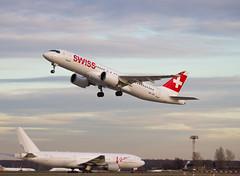 HB-JCE Bombardier BD-500 CSeries CS300 Swiss