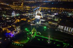 Kaunas at night   Aerial #323/365