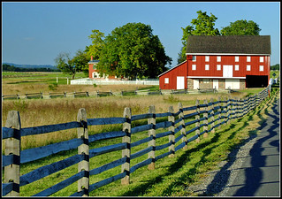 Sherfy Farm on the Gettysburg Battlefield