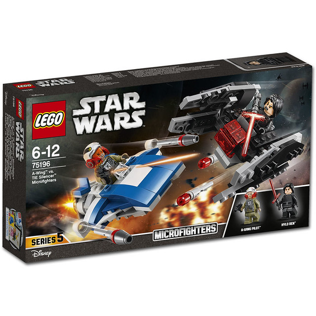 LEGO Star Wars 75196 - A-Wing vs. Tie Silencer