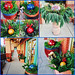 Holiday Greens — Photo Courtesy Brian Wheat, AAF, PFCI, of Lafayette Florist, Gift Shop & Garden Center in Lafayette, Colorado. www.lafayetteflorist.com