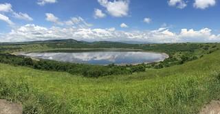 Queen Elizabeth NP Crater Lake
