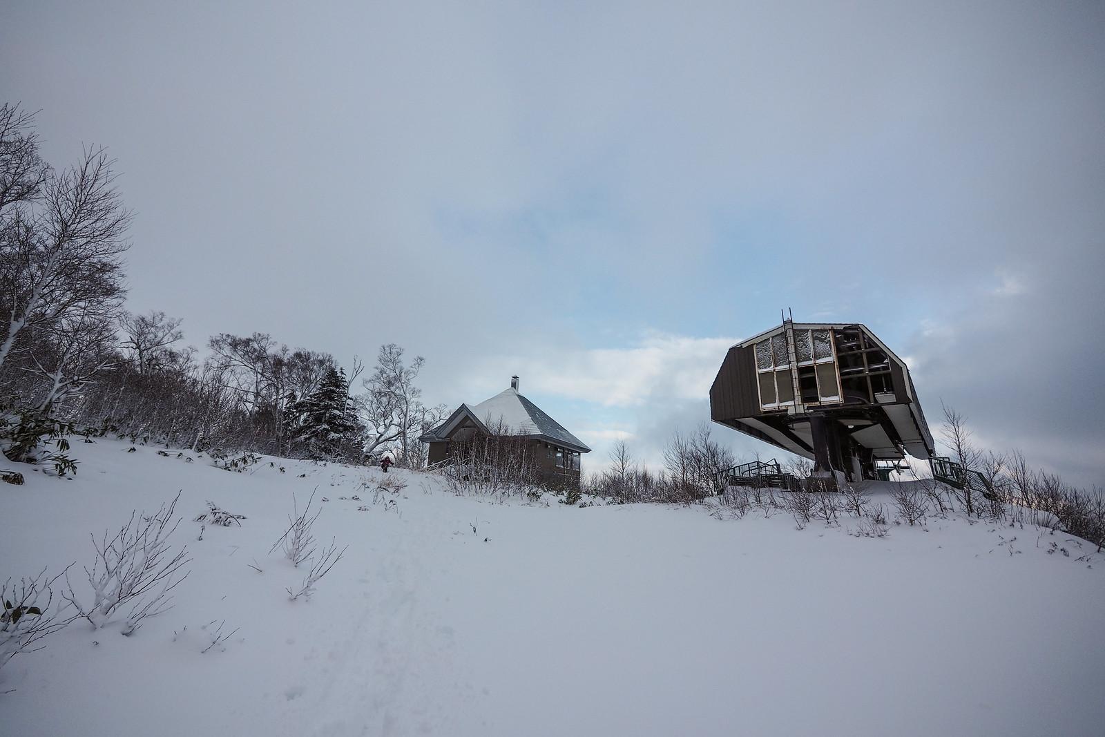 Neopara snowshoe trip (Sapporo City, Hokkaido, Japan)